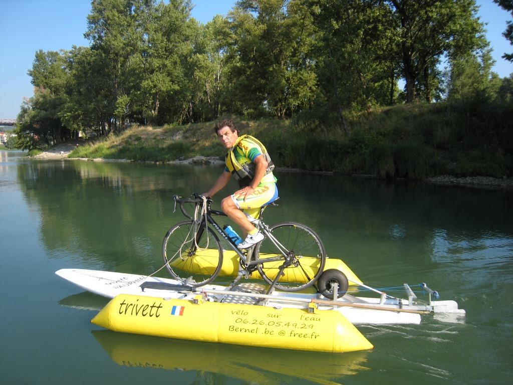 Autre façon de faire du vélo